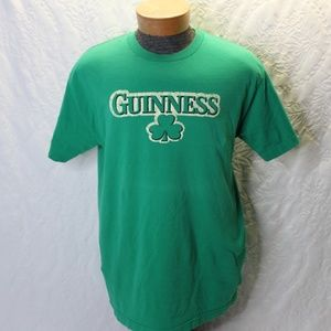 Guinness Shamrock T Shirt Size Large